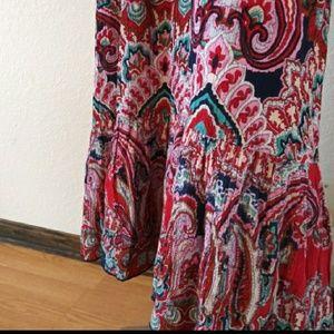 Bila Dresses - Bila Dress small Boho crotchet Maxi dress